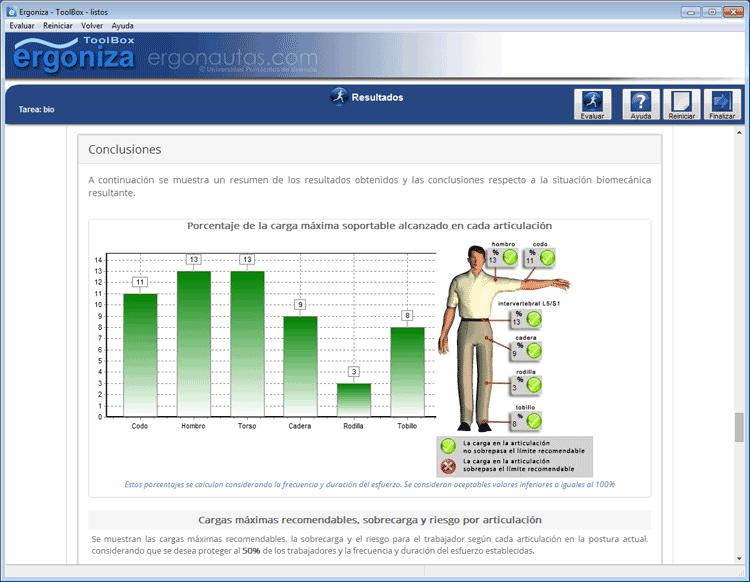 Ergoniza - Software de ergonomía