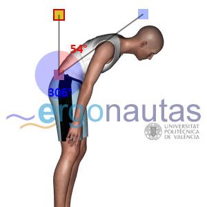 Ergonautas RULER - Medición de flexión de tronco