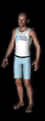 ergonautas - OWAS - Los dos brazos bajos.