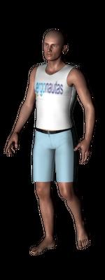 ergonautas - OWAS - De pie con una pierna flexionada.