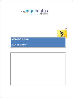 Hoja de Campo para la aplicación del método ROSA de Ergonautas